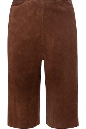 Totême Suede Bermuda shorts
