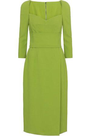 Dolce & Gabbana Dame Midikjoler - Cady midi dress