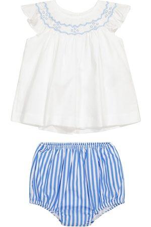Ralph Lauren Baby cotton dress and bloomers set