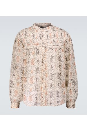 Isabel Marant Nael patterned shirt