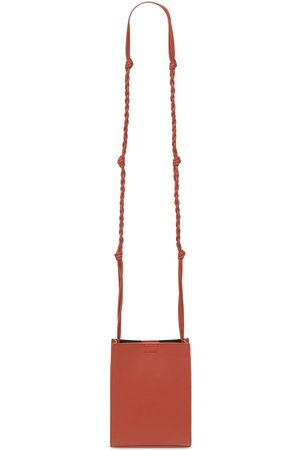 Jil Sander Herre Tote bags - Small Tangle Leather Tote Bag