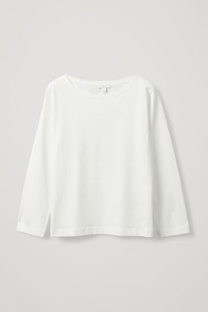 COS RELAXED LONG SLEEVE T-SHIRT
