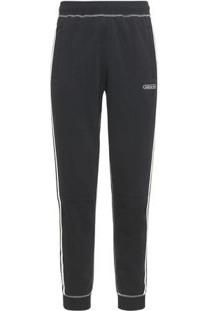 adidas Herre Joggebukser - Contrast Stitch Cotton Blend Sweatpants