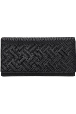 Bottega Veneta Intreccio Leather Continental Wallet