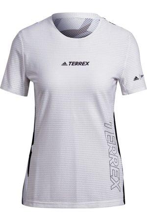 adidas Dame Kortermede - Women's Terrex Parley Agravic TR Pro T-shirt