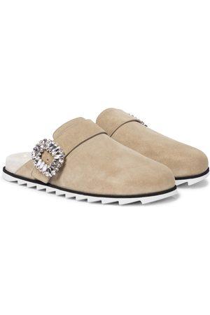 Roger Vivier Dame Loafers - Slidy Viv' suede slippers