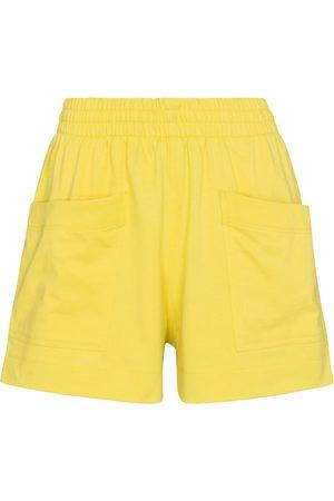 DRIES VAN NOTEN Cotton jersey shorts