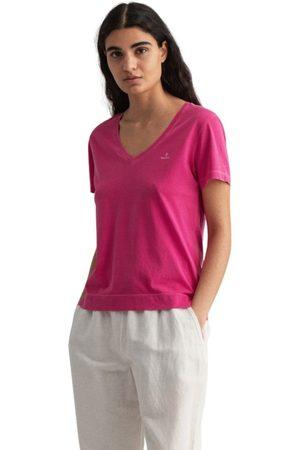 GANT D2. Sunfaded V-Neck T-Shirt