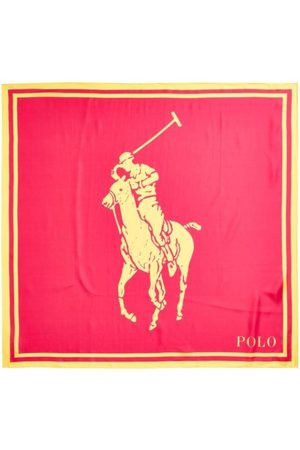 Polo Ralph Lauren Big Pony Silk Scarf Skjerf