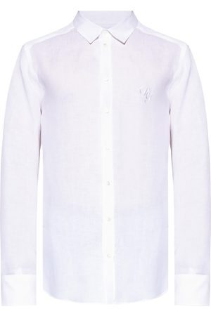Dolce & Gabbana Linen shirt with logo