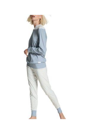 Calida Dame Pyjamaser - Yellowbration Pyjama With Cuff