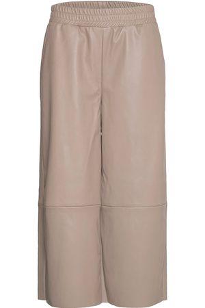 mbyM Leonie Leather Leggings/Bukser Rosa