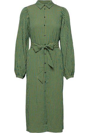 Selected Dame Hverdagskjoler - Slfnanna Ls Midi Shirt Dress Ex Dresses Everyday Dresses