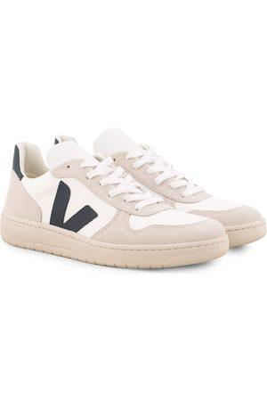 Veja V-10 Mesh Sneaker White Nautico