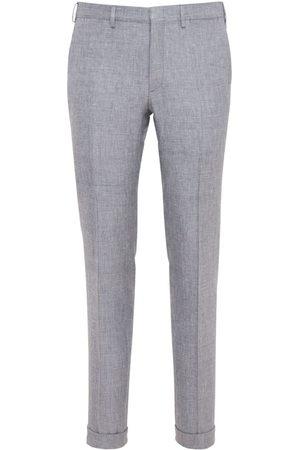 BRIONI 18.5cm Vail Linen, Wool & Silk Pants