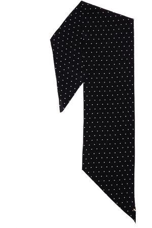 Saint Laurent Dots Silk Scarf