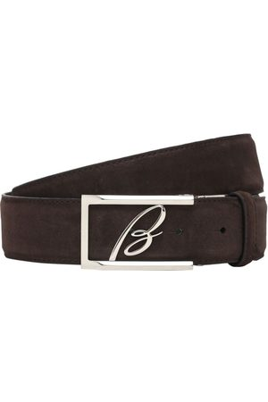 BRIONI 3.5cm New Elty Leather Belt