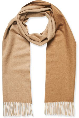 Piacenza Cashmere Herre Skjerf - Vicuna/Baby Cashmere Scarf Camel