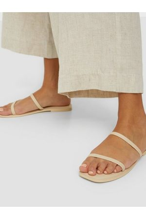 Vero Moda Dame Sandaler - Vmdea Leather Sandal Birch