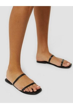 Vero Moda Vmdea Leather Sandal Black