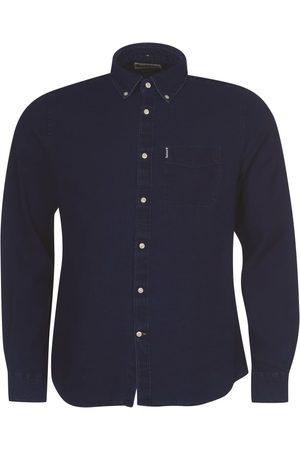 Barbour Herre Skjorter - Indigo 10 Tailored Shirt Men´s