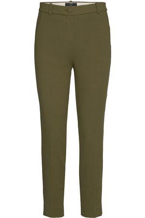 J.Crew Dame Smale bukser - Hr Cameron Seasonless Stretch Slimfit Bukser Stoffbukser Grønn