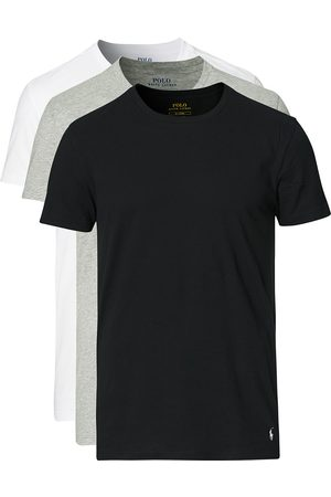 Polo Ralph Lauren 3-Pack Crew Neck Tee Black/Grey/White