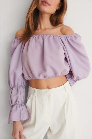 Trendyol Dame Off shoulder - Off Shoulder-Bluse