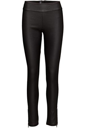 Cream Belus- Katy Fit Leather Leggings/Bukser Brun