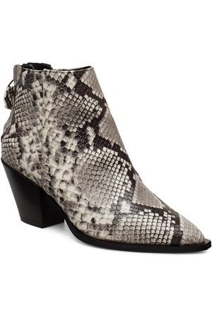 JENNIE-ELLEN Dame Skoletter - Oh Boy Shoes Boots Ankle Boots Ankle Boots With Heel