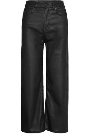 Pepe Jeans Dame Leggings - Lexa Gloss Leather Leggings/Bukser Svart