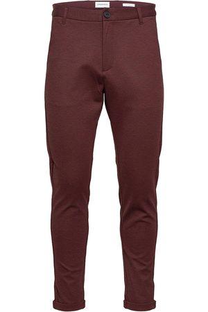 Lindbergh Knitted Cropped Pants Dressbukser Formelle Bukser Svart