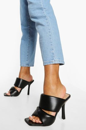 Boohoo Dame Flip flops - Soft Double Strap Mule