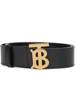 Burberry Herre Belter - Monogram buckle belt