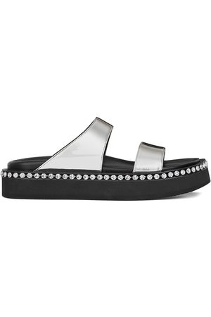 Giuseppe Zanotti Dame Flip flops - Jolanda crystal-embellished sliders