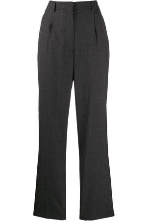 Prada Dame Chinos - High-waist wool trousers