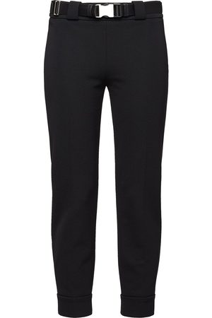 Prada Dame Smale bukser - Zip detail trousers