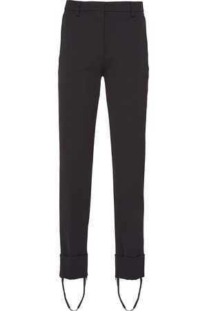 Prada Dame Chinos - Stirrup-ankle tailored trousers