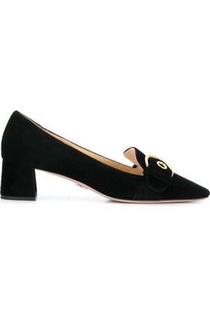 Prada Dame Loafers - Buckled heeled loafers