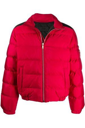 Prada Herre Vinterjakker - Funnel neck padded jacket