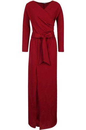Boohoo Dame Maxikjoler - Off The Shoulder Split Maxi Bridesmaid Dress