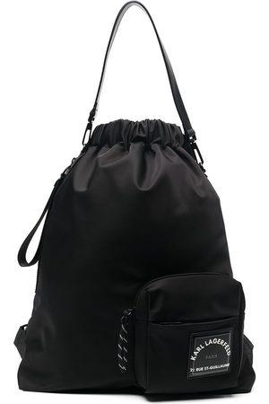 Karl Lagerfeld Herre Ryggsekker - Rue St-Guillaume drawstring backpack