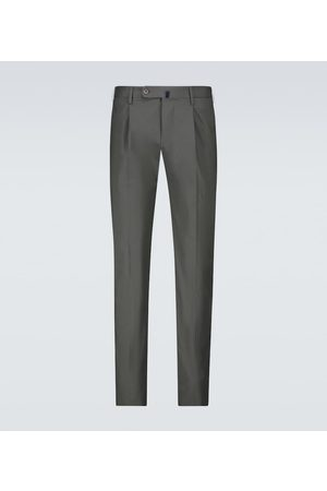 Incotex Herre Chinos - Stretch-cotton casual pants