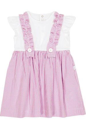 Il gufo Kjoler - Baby gingham dress