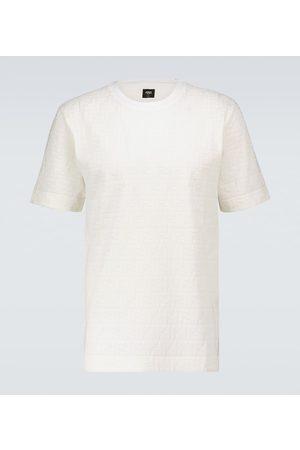 Fendi Herre Kortermede - FF short-sleeved cotton T-shirt