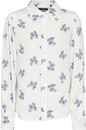 Isabel Marant Dame Langermede - Bedrissa floral shirt