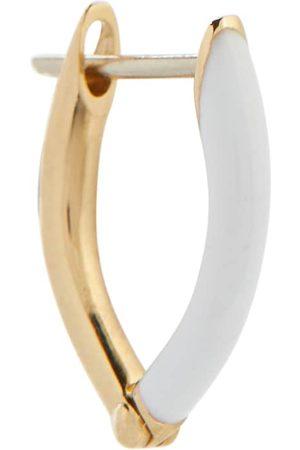 Melissa Kaye Dame Øreringer - Cristina 18kt gold single hoop earring
