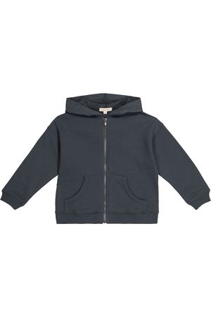 Caramel Gutt Hettegensere - Driftfish cotton zip-up hoodie