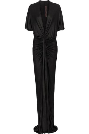 Rick Owens Dame Midikjoler - Lilies ruched gown