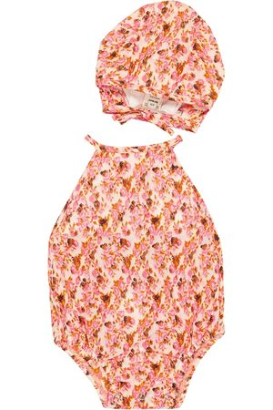Caramel Body - Baby Crab cotton bodysuit and hat set